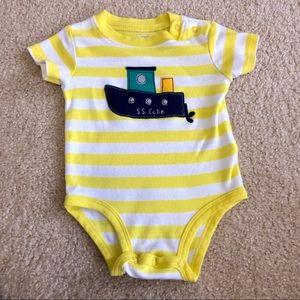 5/$25 Carter's 'S.S. Cutie' Bodysuit